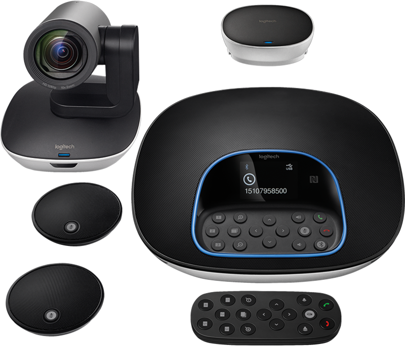 Videconferencia Logitech Group SMART - Trilogic